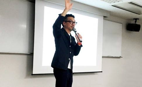 岡部哲也が武蔵野美術大学で特別講義を行いました。